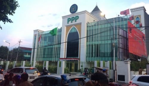 Foto PPP: Usulan PT 10 Persen Tunjukkan Arogansi Politik Kelompok Tertentu