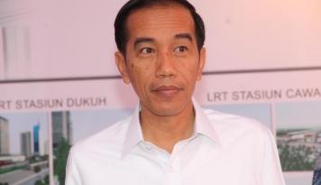 Foto Presiden Jokowi: Antusiasme Masyarakat jadi Kepuasan Pemerintah