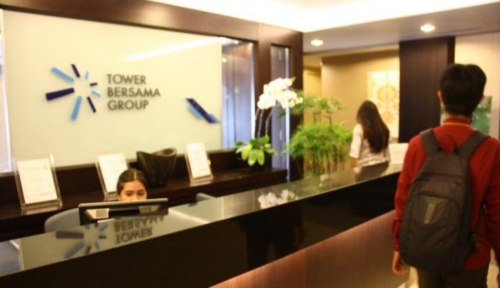 Foto Berita Kuartal III 2018, Laba Bersih TBIG Turun 4,1%