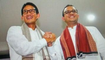 Foto Mantan Wakil Ketua KPK Ini Dukung Anies-Sandi Pimpin DKI