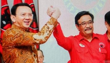 Foto Prasetyo Edi Jadi Ketua Tim Pemenangan Ahok-Djarot