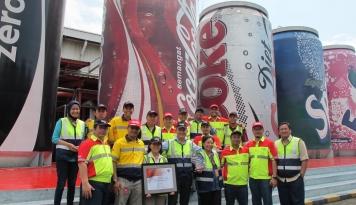 Foto Gandeng ASA, CCAI Gelar Coke Kicks di Ambon