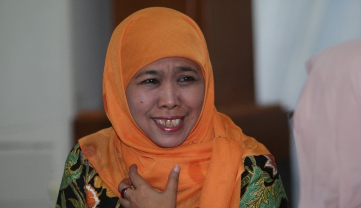 Foto Berita Khofifah Yakin Raup Mayoritas Suara Perempuan