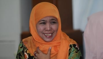 Foto Khofifah Yakin Raup Mayoritas Suara Perempuan