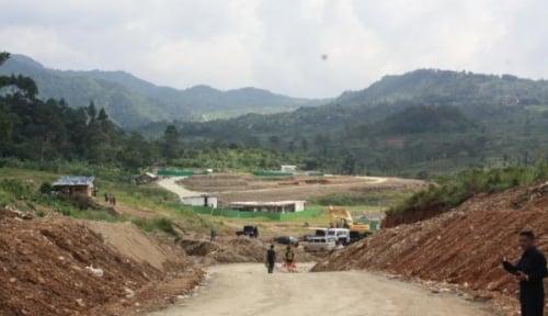 Foto Infrastuktur di Perbatasan Indonesia-Malaysia Rusak Parah