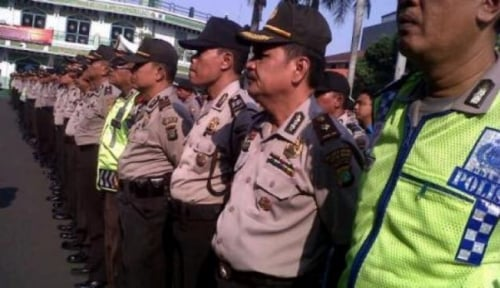Foto Polisi Jaring 25 Remaja Bantar Gebang Hendak Tawuran