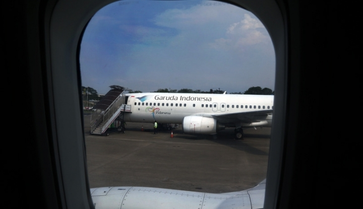 Foto Berita Antisipasi Mudik Lebaran, Garuda Siapkan 38 Unit Mesin Self Check In