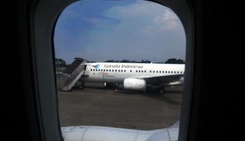 Foto KPK Duga Ada Suap Pada Badan Pesawat Garuda