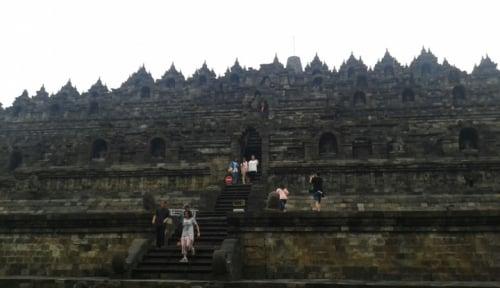 Foto Candi Borobudur Jadi Daya Dorong Perekonomian Masyarakat