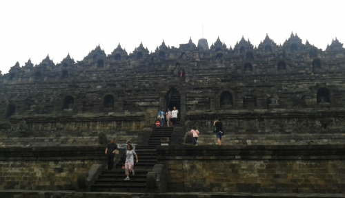 Foto Kata Ganajr, Borobudur Marathon Bisa Tarik Wisatawan