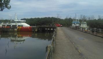 Foto Sarana Penunjang di Pelabuhan Sultra Memprihatinkan