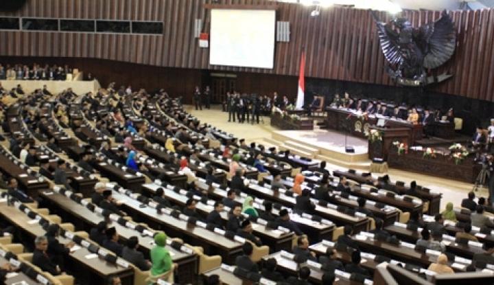 Foto Berita Hari Ini DPR Gelar Revisi UU MD3