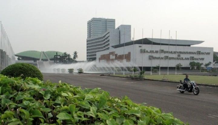 Foto Berita Pimpinan DPR Tunggu UU MD3 Diundangkan