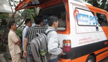Foto Pengiriman Pos Indonesia Menurun Akibat Kerusakan Sistem