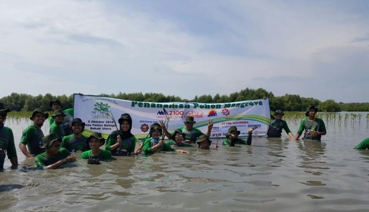 BEST Tanam 15.000 Pohon Mangrove dalam Rangka CSR - Warta Ekonomi