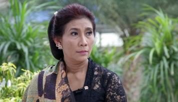 Foto Nama Menteri Susi Masuk 100 Perempuan Inspirasional Versi BBC 2017