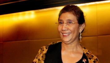 Foto Menteri Susi Ingatkan Kawasan Pertambangan Jangan Rusak Ekosistem
