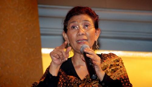 Foto Menteri Susi Minta Naik Gaji