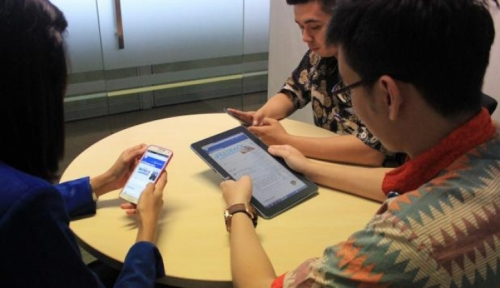 Foto TNS: Masyarakat Indonesia Lebih Mudah Terima Konten Online di Era Hoax