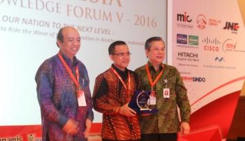 Foto Indonesia Knowledge Forum V 2016, BCA Dukukung Orang Kreatif