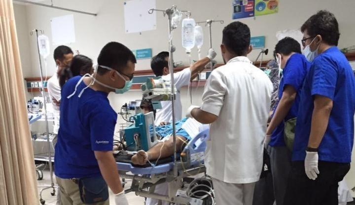 Foto Berita Keracunan Gas CO, Sepuluh Siswa SMP 1 Gambut Dilarikan ke Rumah Sakit