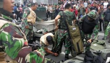 Foto Dua Anggota TNI Tewas Ditembak Kelompok Bersenjata di Papua