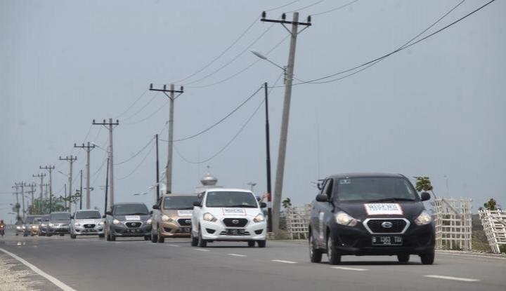 Foto Berita Operasional Tol Bocimi Lancar di Hari Pertama Mudik