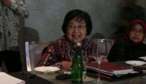 Foto Darurat Karhutla, Menteri Siti Dukung Revisi Permendagri