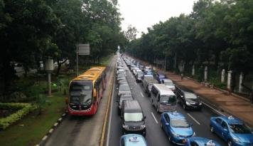 Foto Korlantas: Regulasi Transportasi Online Dibutuhkan untuk Legalitas dan Keamanan