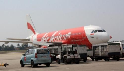 Foto AirAsia Jadi Maskapai Internasional Pertama yang Mendarat di Bandara Avalon Melbourne