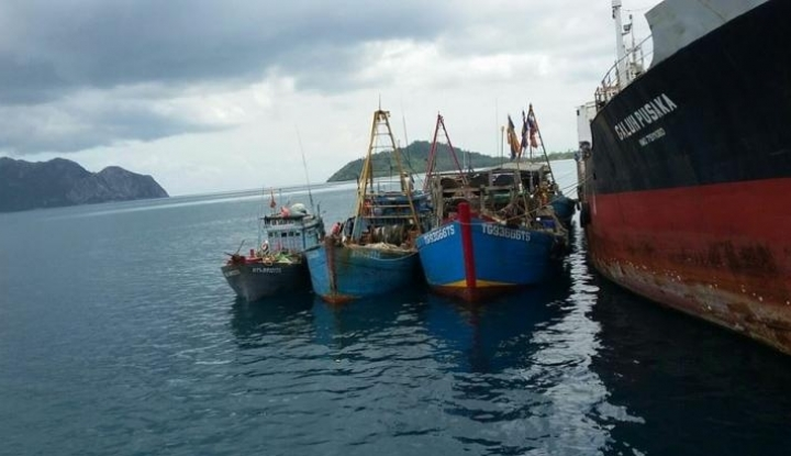 Foto Berita KNTI: Penenggelaman Kapal Tidak Efektif Tekan Pencurian Ikan