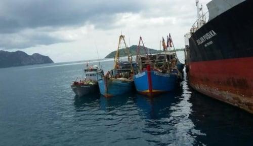 Foto KNTI: Penenggelaman Kapal Tidak Efektif Tekan Pencurian Ikan