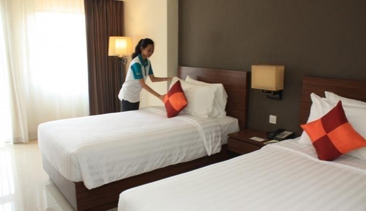 Netizen Ini Sarankan Acak-Acak Sprei Kasur Hotel Sebelum Check Out, Aneh, tapi Ternyata... - Warta Ekonomi