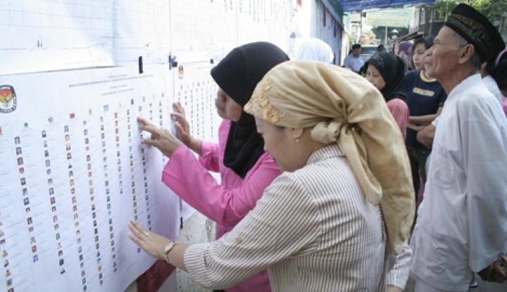 Foto Berita DPT Tambahan Capai Ribuan Orang, Bawaslu: Enggak Masuk Akal!