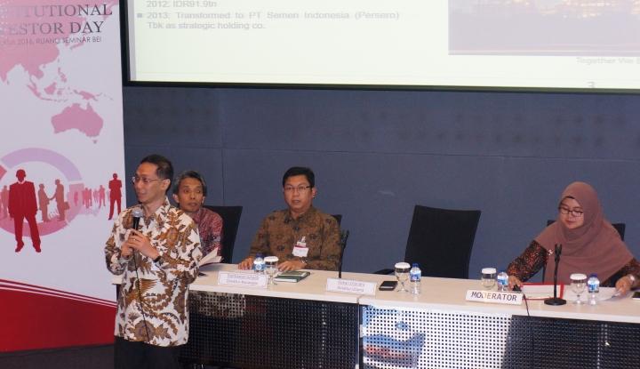 Foto Berita Semen Indonesia Yakin Tahun Ini Penjualan Naik 5%