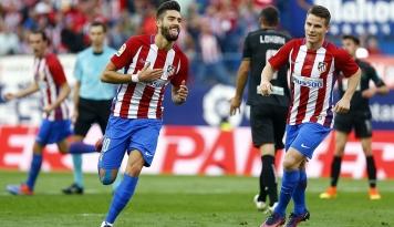 Foto Atletico Madrid Tekuk Liverpool, Simeone: Kami Tak Akan Lupakan Malam Ini