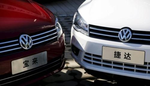 Foto Versi Media Jerman, Penjualan VW Kalahkan Toyota