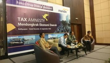Foto Jokowi Tegaskan Amnesti Pajak Tak akan Diulang
