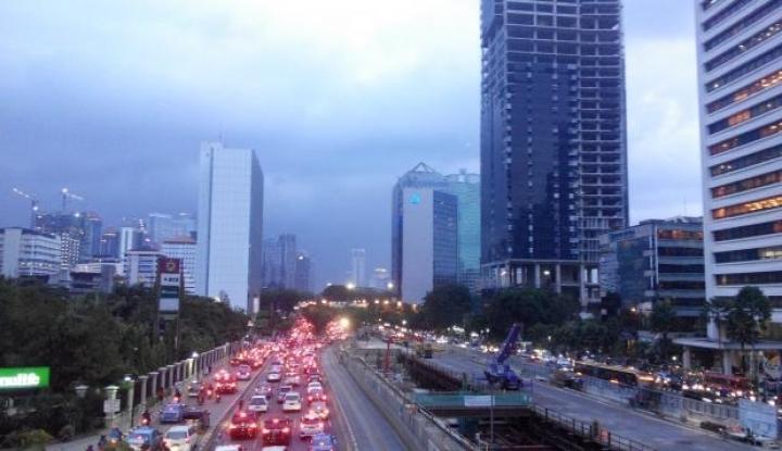 Foto Berita Ini Dia Alasan Pemprov Perluas Trotoar di Sepanjang Sudirman-Thamrin
