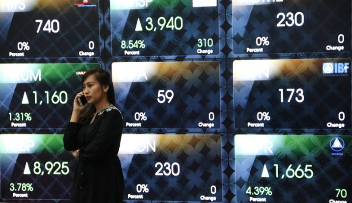 Foto Berita Dampak Naik Peringkat S&P, Pasar Modal Bergeliat