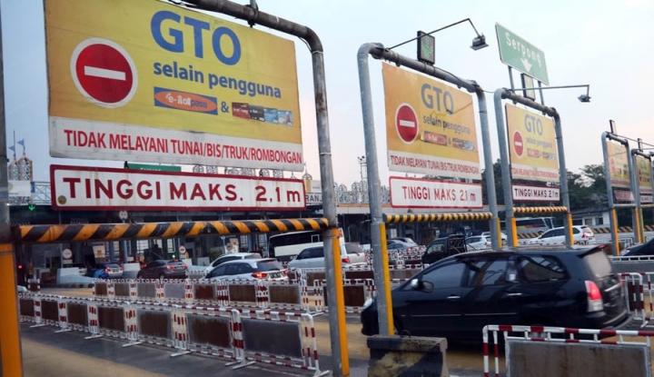 Foto Berita Sejumlah Gerbang Tol Ditutup saat Asian Games Berlangsung