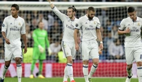 Foto Jalur Juara Real Madrid Semakin Curam