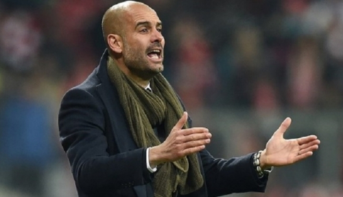 Foto Guardiola Bernapas Lega, Man City Sukses Bungkam Sheffield