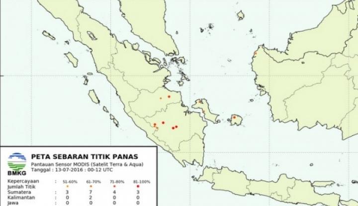 Foto Berita BMKG Deteksi Titik Panas Baru di Aceh