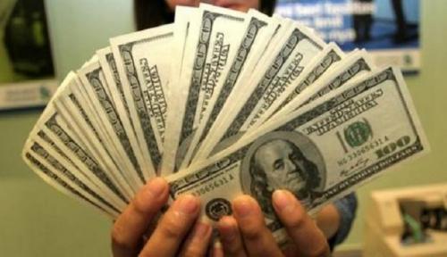 Foto Polisi Tangkap Pengedar Dolar Palsu Senilai Rp3 Miliar