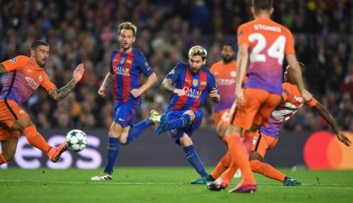 Foto Gol Paulinho Selamatkan Muka Barcelona di Kandang Getafe