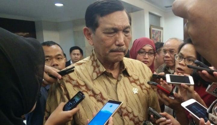 Foto Berita Luhut Sebut Indonesia Bakal Coret Bebas Visa Beberapa Negara