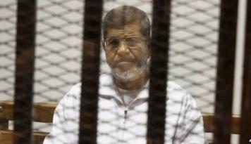 Foto Presiden Terguling Mesir Dihukum 20 Tahun Penjara