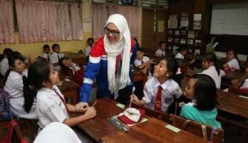 Foto Ingin Tumbuh Bersama, JICT Lebih Pilih Sektor Pendidikan