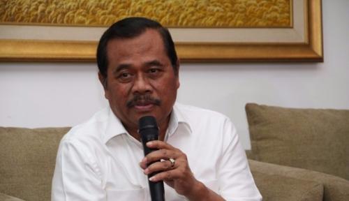 Foto Jaksa Agung Puas